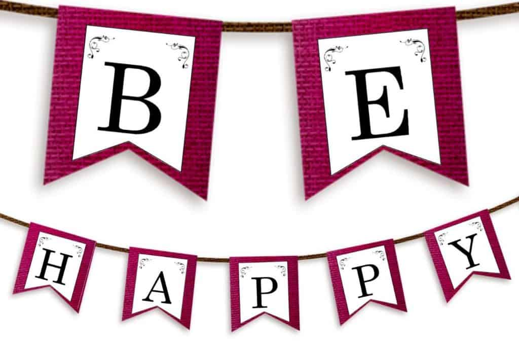 Free Printable Letter Banners For Anything